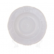 Набор глубоких тарелок 21см.6шт. «Бернадот белый 311011»