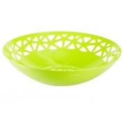 Корзина круглая зеленый лайм