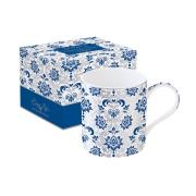 Кружка Рококо (синяя) в подарочной упаковке