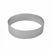 Кольцо кондитерское, сталь, D=20,H=6см, металлич.