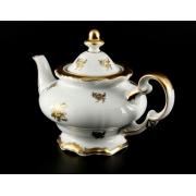 Чайник заварочный 600 мл. «Роза золотая»