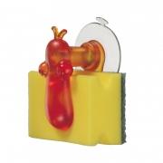 Держатель для губки «Норберт» (NORBERT) Koziol 6,8 x 9,5 x 10,8см (оранжевый)