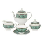 Чайный сервиз из 15 предметов на 6 персон Восточный дворец