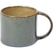 Чашка для эспрессо D=60, H=51мм; серый, голуб.
