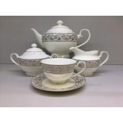 Сервиз чайный «Барокко» 17 предметов на 6 персон
