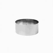 Кольцо кондитерское, сталь нерж., D=140,H=60,B=205мм, металлич.