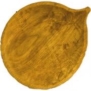 Блюдо «Осина» светлый дуб