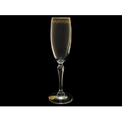 Бокал для шампанского Люция, Золотая веточка
