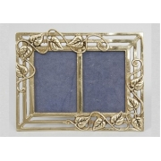 Фоторамка - «Листья» двойная золотистый 9х13 см.