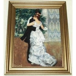 Картина «Городские танцы» 35х29 см, фарфор, серия Renoir. Подарочная упаковка