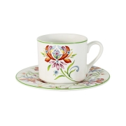 Чашка на блюдце Аквитания