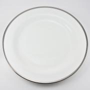 Набор 6 тарелок подстановочных 28см «Серебрянная вышивка»