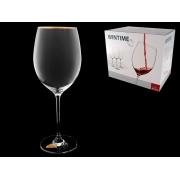 Бокал для вина Wintime Золотая отводка