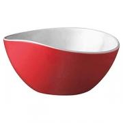 Салатник; пластик; 3л; D=28,H=12см; красный