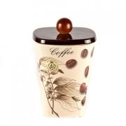 Емкость с крышкой для кофе h=18cm «МоКа»