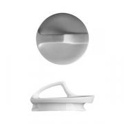 Крышка для чайника «Атлантис», фарфор, D=95,H=50мм, белый
