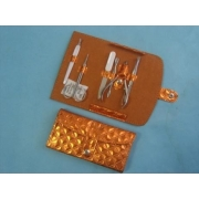 Набор маникюрный 6 пр оранжевый