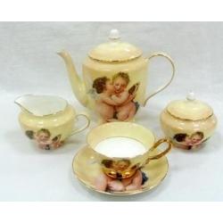 Чайный сервиз из 15 предметов на 6 персон «Ангелочки»