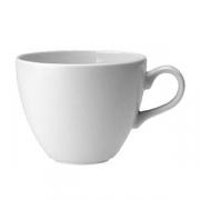 Чашка чайная «Лиф»; фарфор; 350мл; белый