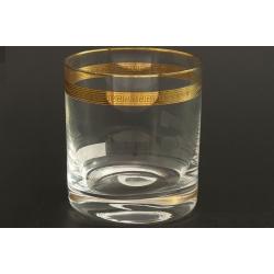 Стакан для виски 280 мл Гольф декор панто+ золото