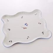 Поднос «Рококо Гуси» 45 x 37 см