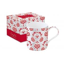 Кружка Рококо (красная) в подарочной упаковке