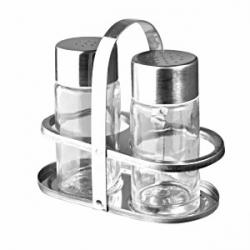 Набор соль/перец на подставке
