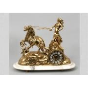 Часы «Колесница» золотистый 32х37 см.