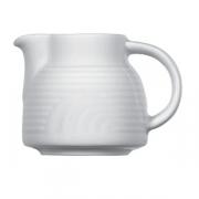 Соусник «Карат», фарфор, 150мл, D=70,H=75,L=95мм, белый