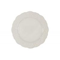 Тарелка обеденная Villa (белая) без инд.упаковки