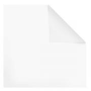 Скатерть без рис., хлопок, L=155,B=150см, белый