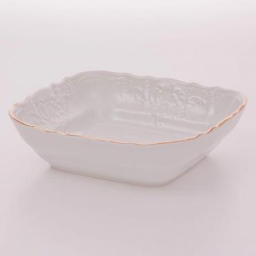 Салатник квадратный J 16 см «Бернадот белый 311011»