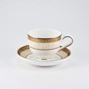 Набор 6 кофейных пар 100мл «Палатин Голд»
