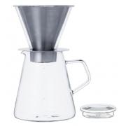 Кофейник с фильтром для заваривания Kinto Carat  (720мл.)