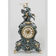 Часы «Всадник» синий 37х21 см.