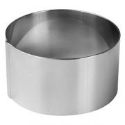 Кольцо кондитерское «Проотель», сталь, D=8,H=4см, металлич.