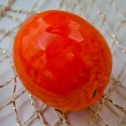 Декоративный фрукт «Мандарин» 9x7 см.