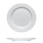 Тарелка мелкая «Карат», фарфор, D=240,H=17мм, белый