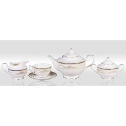 Сервиз чайный «Нежность» 17 предметов на 6 персон