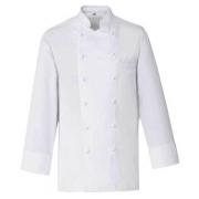 Куртка поварская,р.48 б/пуклей, полиэстер,хлопок, белый