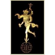 Гермес-Бог торговли, 25х40 см, 1210 кристаллов