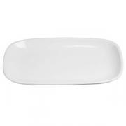 Блюдо прямоугольное банкетное «Магнум», фарфор, H=45,L=480,B=310мм, белый