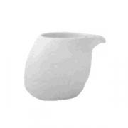 Молочник «Исола», фарфор, 60мл, H=53,L=69,B=43мм, белый