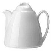Чайник «Лиф»; фарфор; 600мл; белый