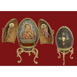 Декоративное яйцо «Триптих»
