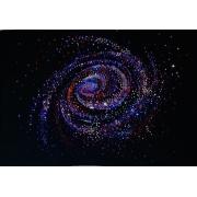 Галактика малая, 4х30 см, 1260 кристаллов