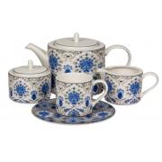 Сервиз чайный 17 предм.на 6 персон «Ханна»