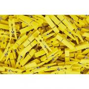 Прищепки-мини для бокала [500шт] L=35мм; желт.