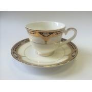 Набор чашек для кофе на 2 персоны «Дворцовый Кобальт»