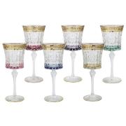 Набор: 6 бокалов для вина Цветная Флоренция